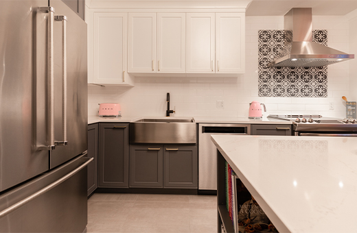 Kitchen Renovation In Montreal Qc Cuisines Nuenza