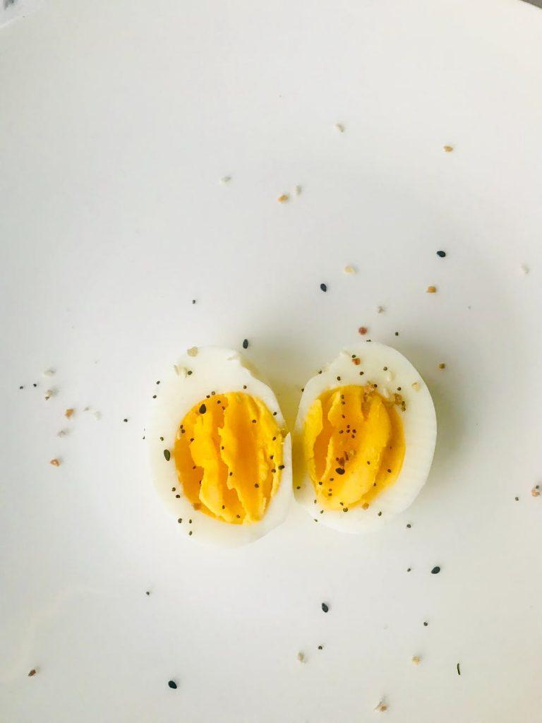 Devil egg half